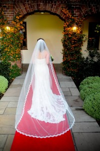 Julia Wedding Veil, 150 cm wide