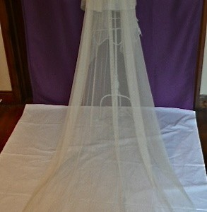 Anna, Swarovski Wedding Veils
