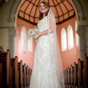 Ashlinn Gold Wedding Veils