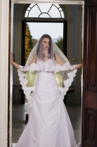 Carolina Oval Drop Veil