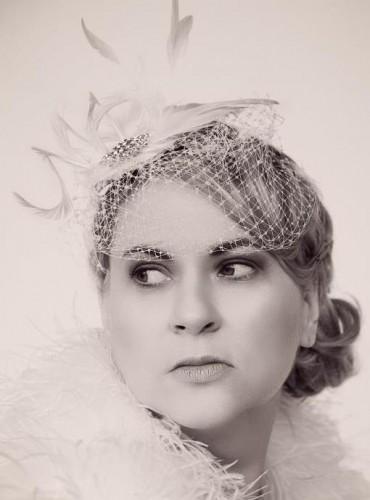 Debbie Headpiece, January 2013, Northern Ireland.