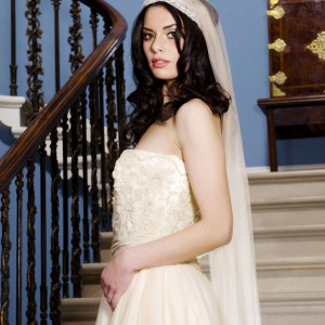 Giselle Headband Wedding Veils
