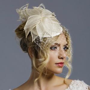 Fleur, Ivory Bridal Hats