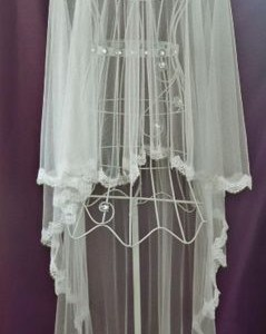 Phoebe Silk Wedding Veils