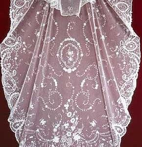 Belgian Princess Lace veil V 2855 1