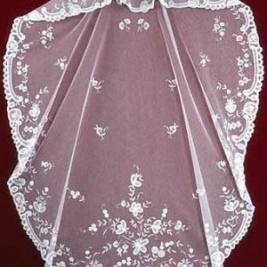 Belgian  Lace Wedding Veils V-90633 1