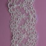 Heidi Ivory beaded lace edging