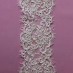 Tatiana, Ivory corded lace