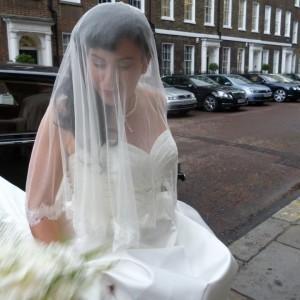 Silk and lace Wedding Veils, Kelly