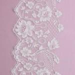 Ivory zara chantilly lace