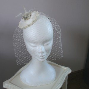 headpiece birdcage, Shauna