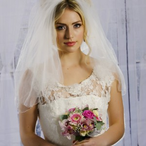 Audrey Veil, shown as a two layer veil