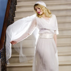 Clarissa Lace Cap Wedding Veil