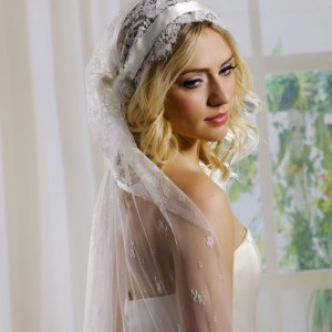 Lace Cap Wedding Veils