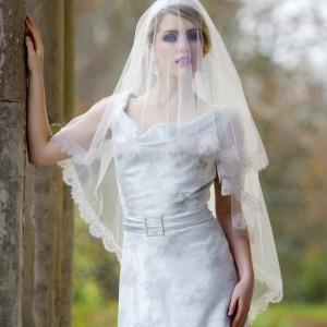 Juliet Cap Wedding Veil, Grace Kelly