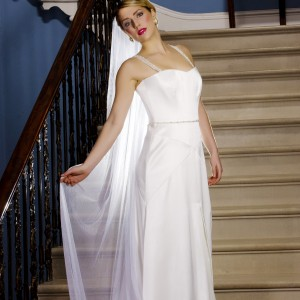 Ivory Wedding Veils, Julianna