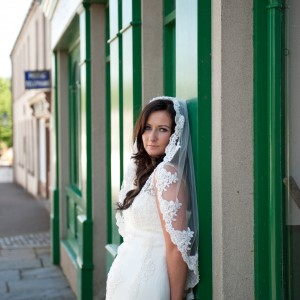 Holly Mantilla Wedding Veil