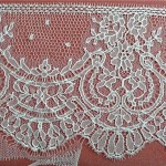 Ivory French Lace, 16 cm