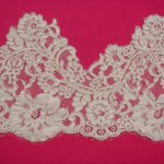Ivory Corded Lace Edging