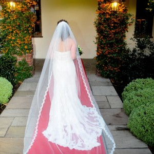 Julia Lace Wedding Veil