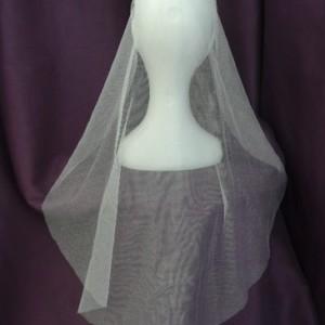 Katherine Silk Mantilla Veils