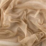 Mink, french soft silk tulle