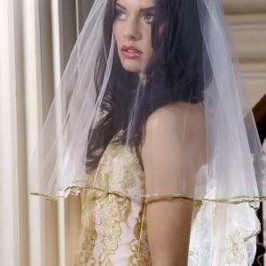Rosina Pink Wedding Veils