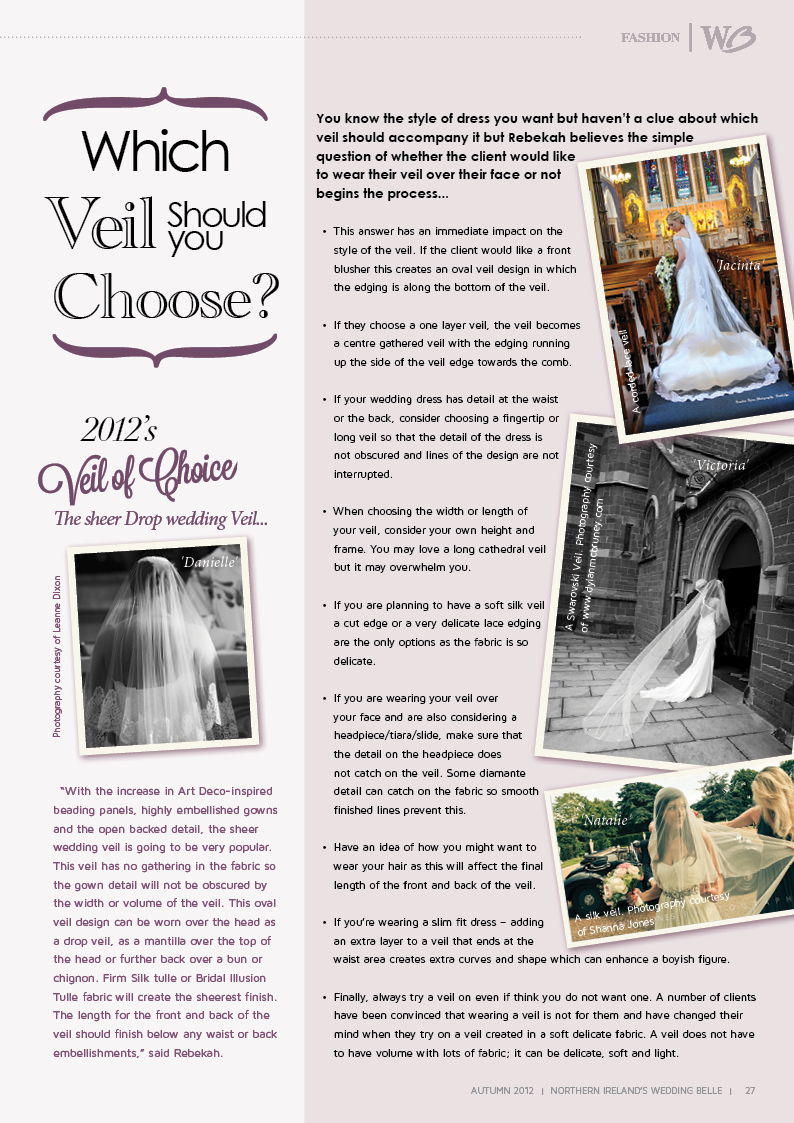 Which Veil should you chose?