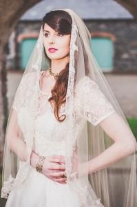 Decadence Vintage Bridal Fair, Elizabeth Veil