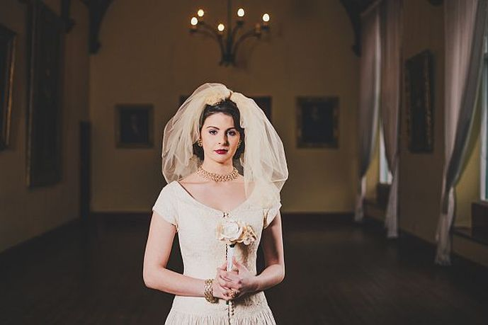 Decadence vintage Bridal Fair, Lucy Bubble