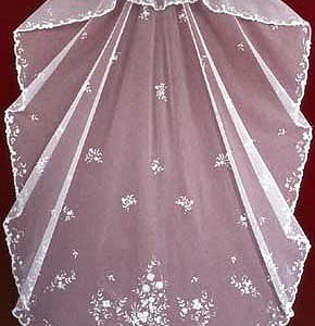 Belgian Princess Lace veil V -3550 1