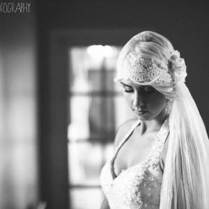 Natasha, vintage cap veil