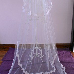 Edel, Lace Wedding Veil
