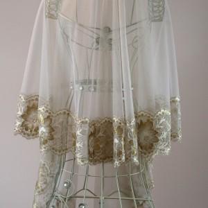 Gold Wedding Veils, Clare