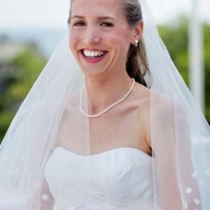 Megan, Ivory Shamrock Veil