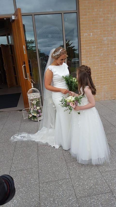 Veil Restoration of an existing wedding veiil