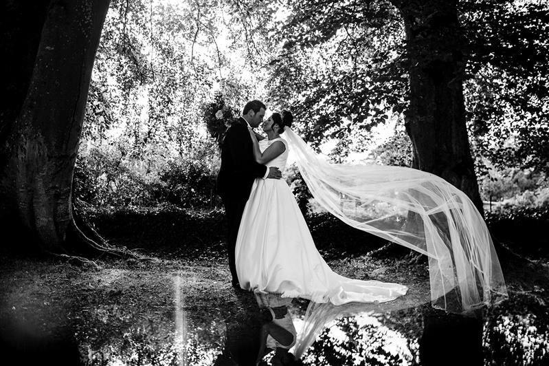 Cathedral Wedding Veil designed by Wedding Veil designer Visionary Veils for Real Bride.