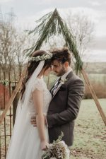 Draped wedding veils, photoshoot at Breckehill Location, Northern Ireland