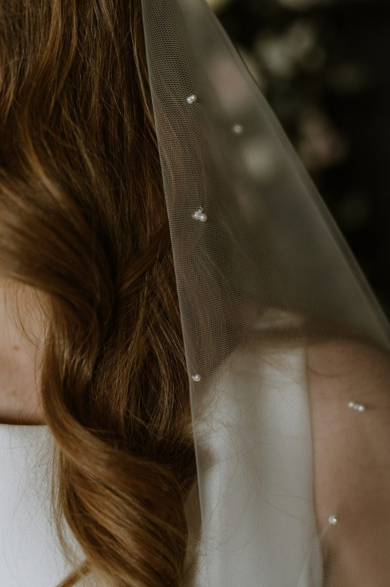 Pearl Veils UK on the Elizabeth veil