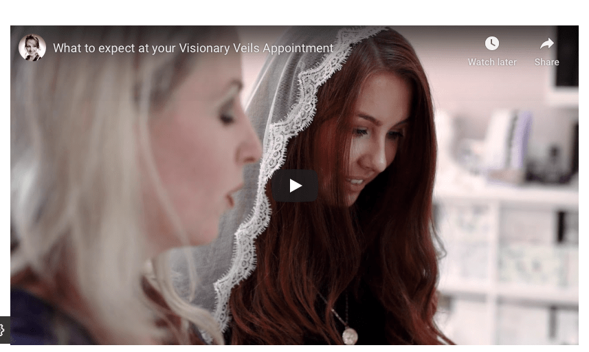 What to expect at a Visionary Veils appointment
