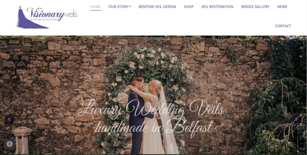 Visionary Veils New Website